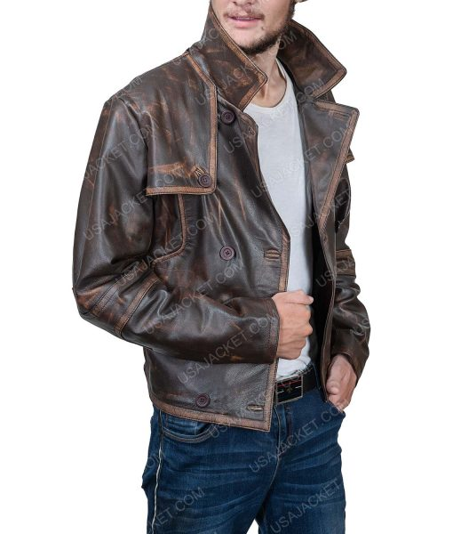 Grant Bowler Defiance Leather Coat