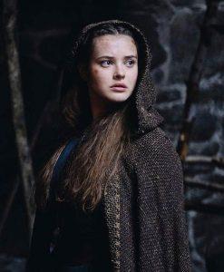 Katherine Langford Cursed Nimue Cloak