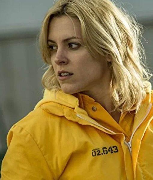 Macarena Ferreiro Vis a Vis El Oasis Maggie Civantos Jacket