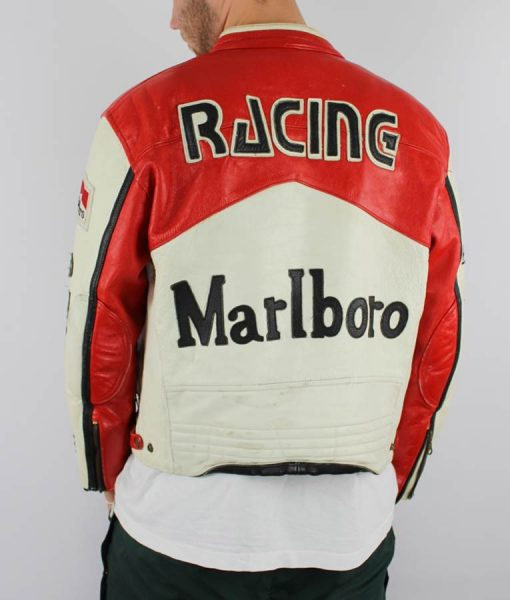 Vintage Racing Leather Marlboro Jacket