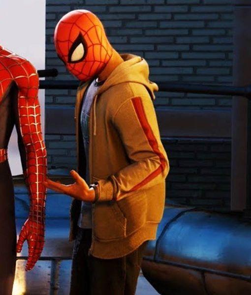 Marvel Spider-Man PS4 Miles Morales Hoodie