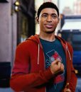 Marvel Spider-Man PS4 Miles Morales Red Hoodie