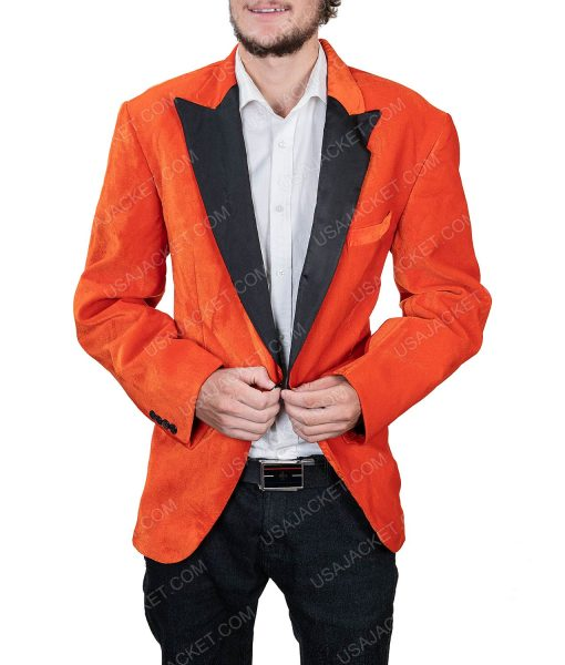 Men's Orange Tuxedo