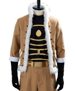 My Hero Academia Season 04 Hawks White Fur Collar Jacket
