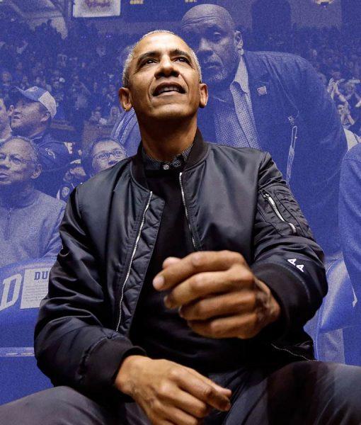 US 44 Barack Obama Bomber Jacket