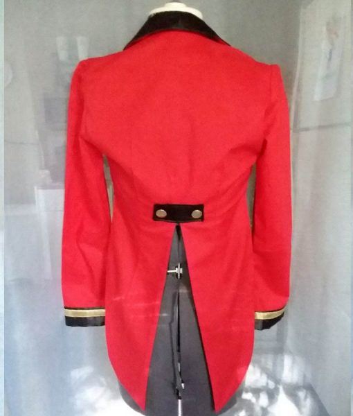 Ringmaster Tailcoat Red Jacket