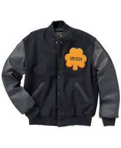 Sean Astin University Of Notre Dame Irish Rudy Letterman Jacket