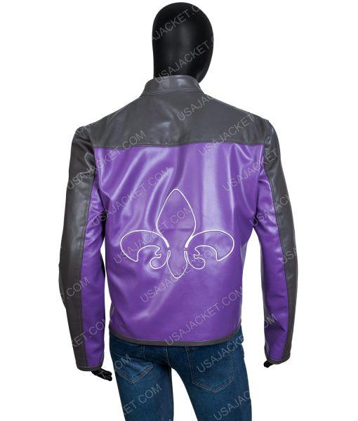 Saints Row Johnny Gat Leather Jacket