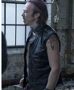 Sense8 Kick Gurry Leather Vest