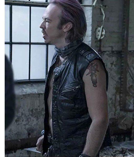 Sense8 Kick Gurry Puck Leather Vest
