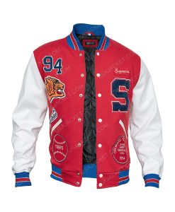 Supreme Tiger Varsity Jacket