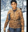 The Last Of Us Part II Dina Brown Leather Jacket