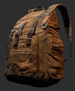 Joel's Brown Backpack