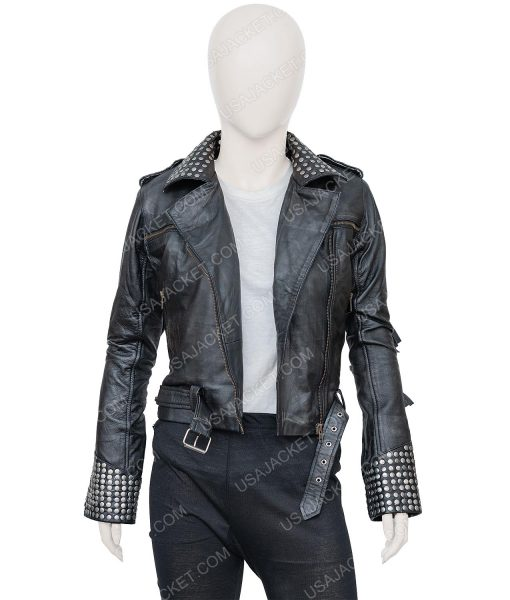 Vis a Vis El Oasis Macarena Ferreiro Leather Jacket