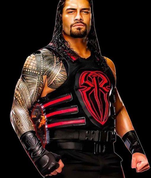 WWE Wrestling Roman Reigns Red Vest