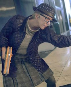 Watch Dogs Legion Helen Dashwood Quilted Jacket