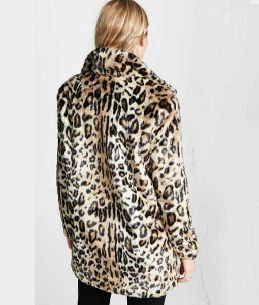 Yellowstone S02 Cheetah Print Coat