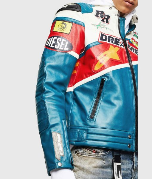 YoungBoy Never Broke Again Motorcycle Leather Jacket