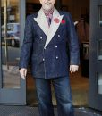 Bing Crosby Blue Denim Tuxedo