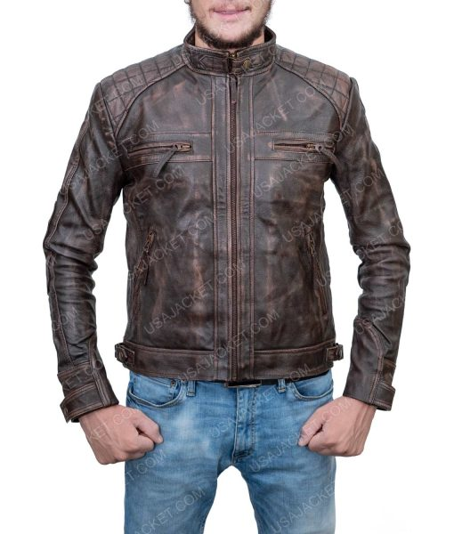 Clearance Sale Cafe Racer Jacket (XS) Size
