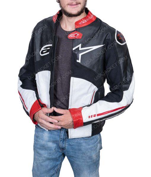 Clearance Sale Men's Biker Leather Jacket