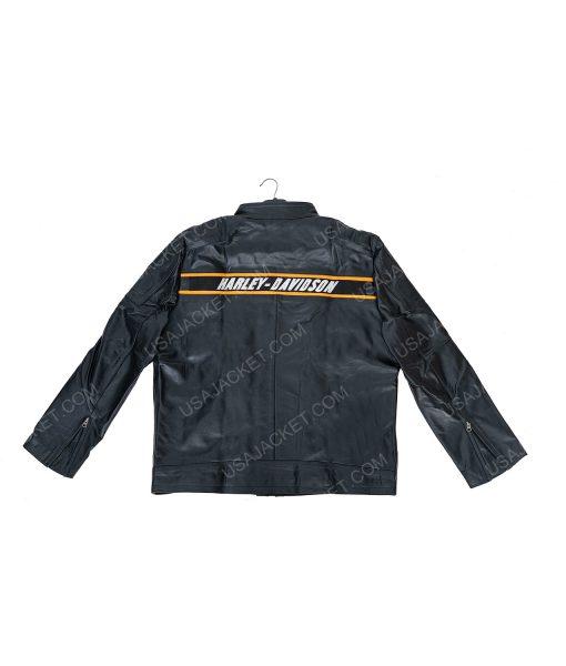 Clearance Sale Harley Davidson Black Leather Jacket (4XL) Size