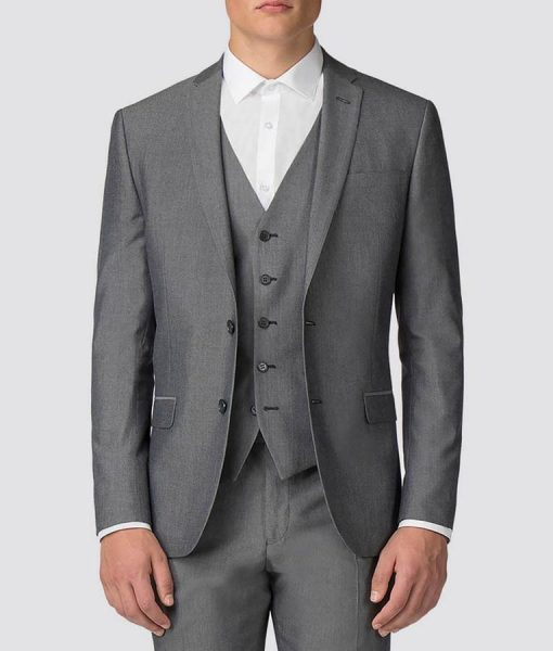 Creeper The Tax Collector Shia Labeouf Grey Suit