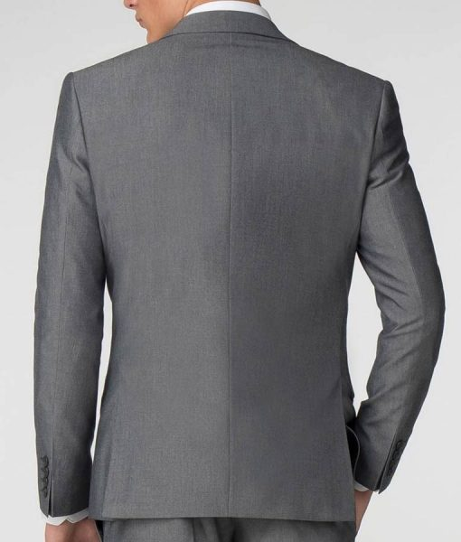 The Tax Collector Shia Labeouf Grey Creeper Suit