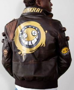 Men's Junkrat Steampunk Leather Jacket