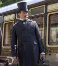 Enola Holmes Mycroft Holmes Double-breasted Coat