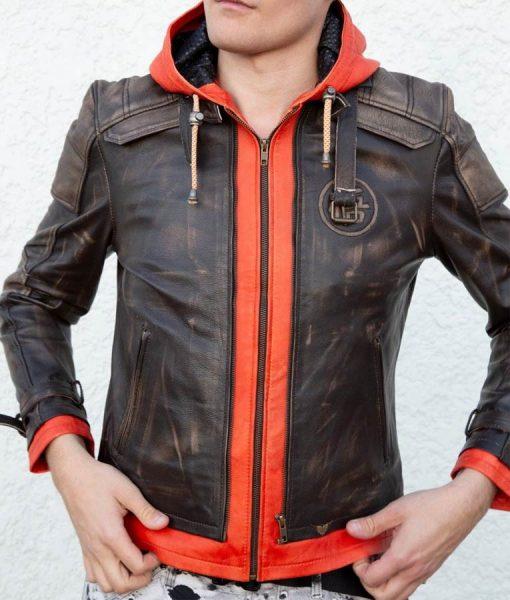 Goku Leather Jacket