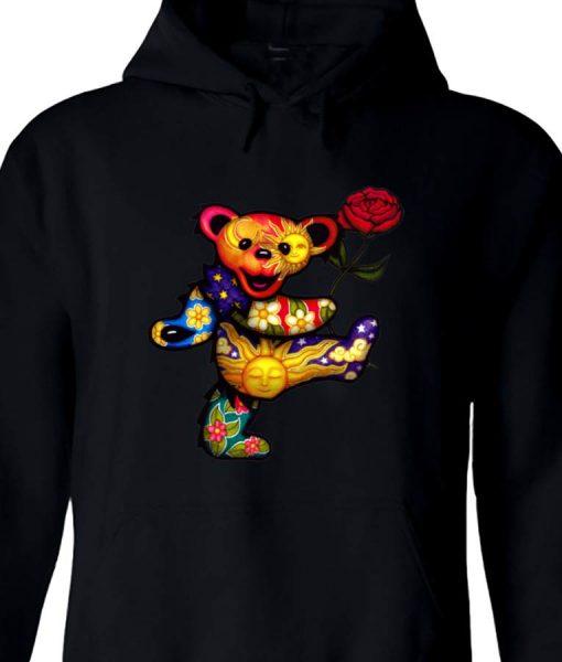 Grateful Dead Bear Hoodie