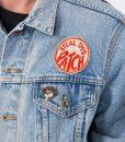 Grateful Dead Denim Jacket With Patches