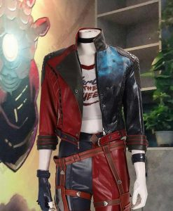 Harley Quinn Suicide Squad Kill The Justice League Cropped Jacket
