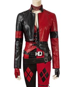 The Suicide Squad Harley Quinn Leather Margot Robbie Jacket