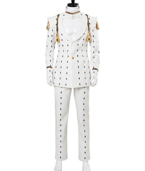 Jojo's Bizarre Adventure Bruno Bucciarati White Suit