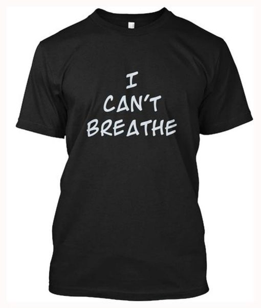 Lebron James I Can't Breathe Shirt