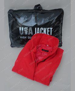 Love, Guaranteed Susan Red Wool Coat