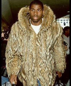 Magic Johnson Fur Coat