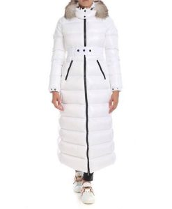 Real Housewives of Beverly Hills Season 10 Erika Girardi Puffer Long Coat With Fur Hood