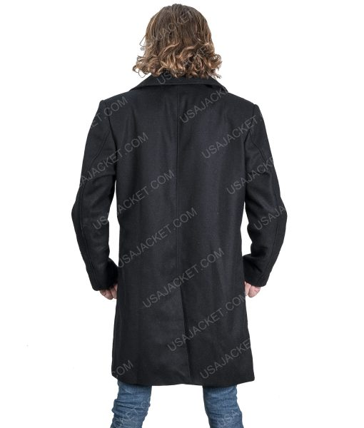 Resident Evil 8 Village Black Wool-Blend Coat
