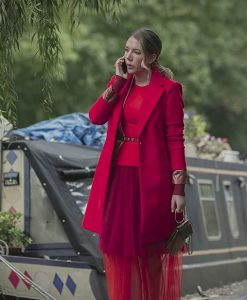 The Duchess Katherine Ryan Pink Coat