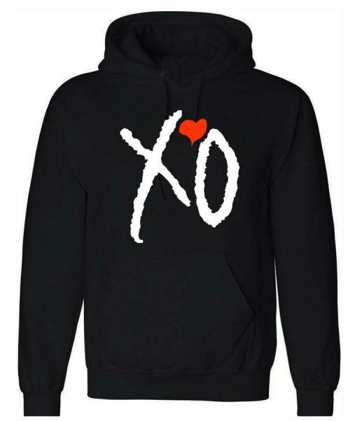 The Weeknd Black Unisex XO Hoodie