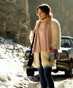 Wynonna Earp S04 Waverly Earp Faux Fur Coat