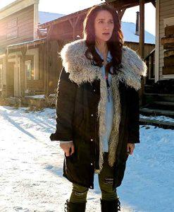 Wynonna Earp Season 04 Melanie Scrofano Black Coat