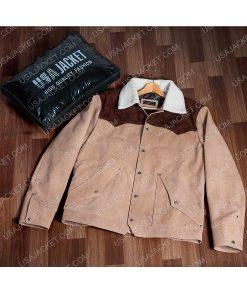 Yellowstone S03 Kevin Costner Shearling Jacket brandshoot