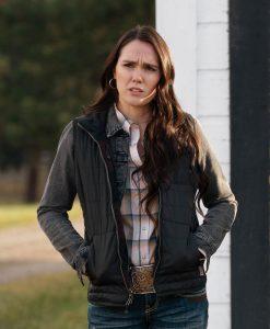 Yellowstone S03 Mia Black Jacket
