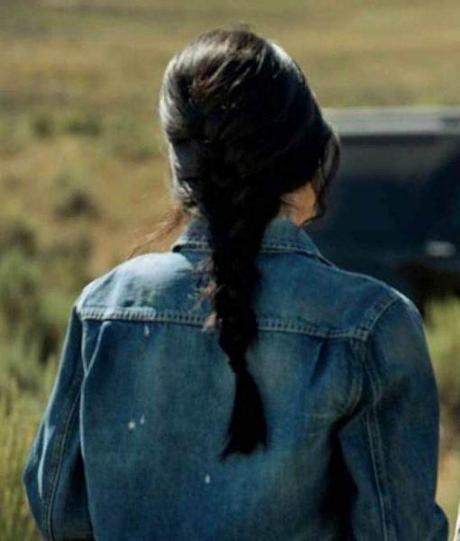 Yellowstone S03 Monica Dutton Denim Jacket