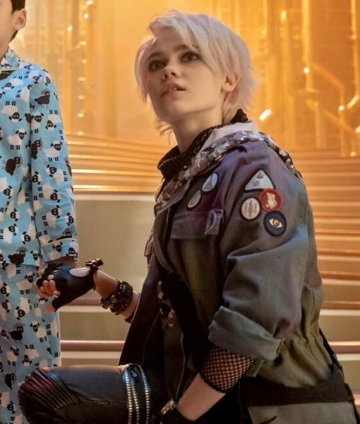 Oona Laurence jacket With patches