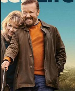 After Life Season 03 Ricky Gervais Brown Jacket